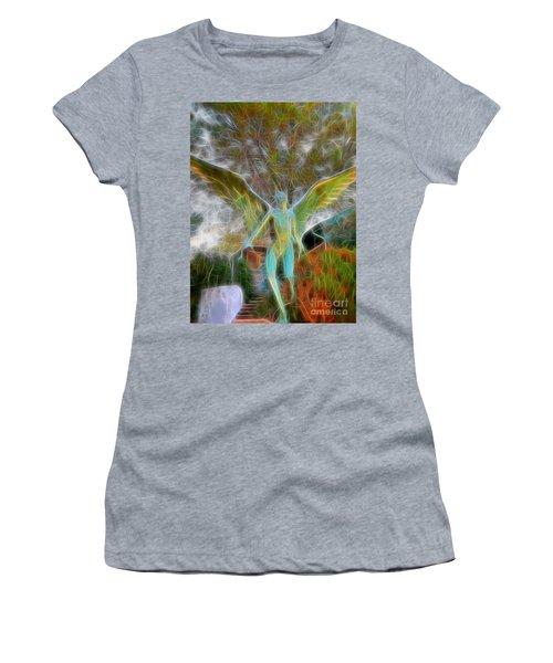 Awaken Women's T-Shirt (Junior Cut) by Gina Savage