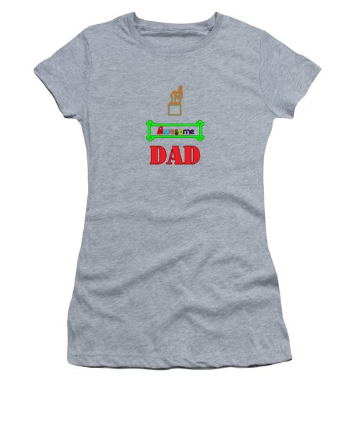 Awesome Dad Women's T-Shirt