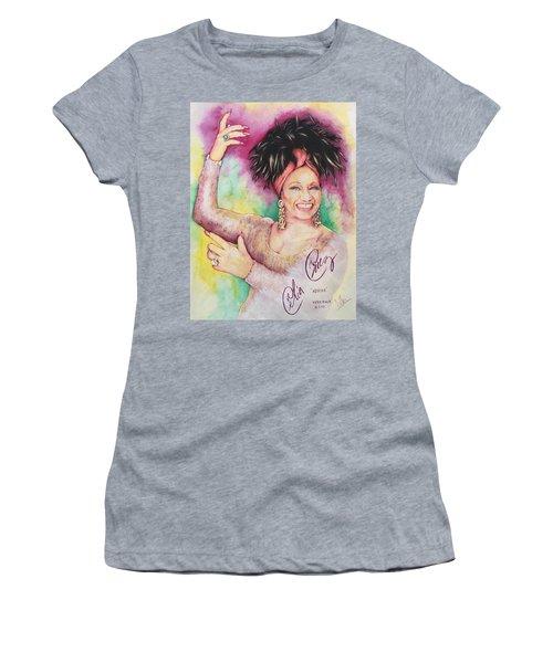Azucar Celia Cruz Women's T-Shirt (Athletic Fit)