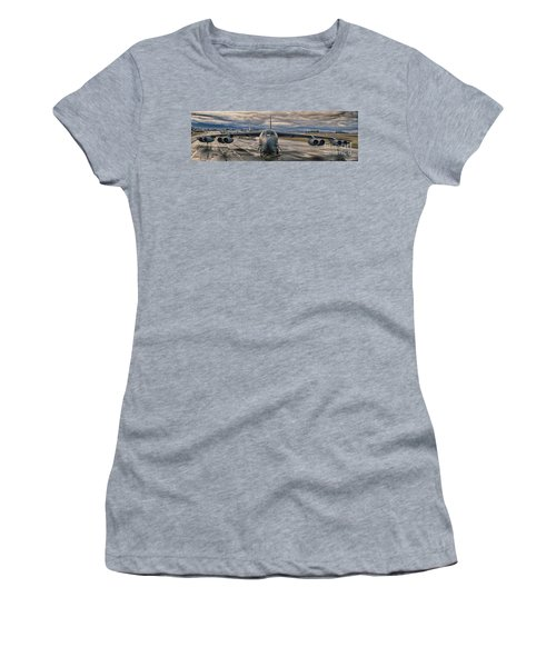 B-52 Women's T-Shirt (Junior Cut) by Jim  Hatch