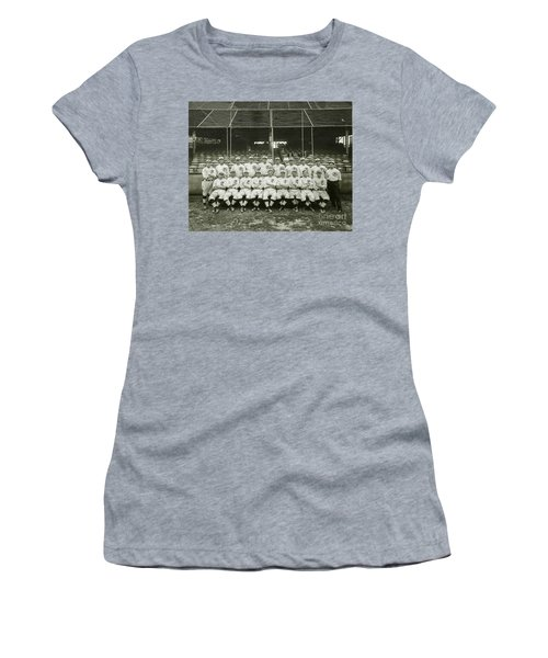Babe Ruth Providence Grays Team Photo Women's T-Shirt (Athletic Fit)