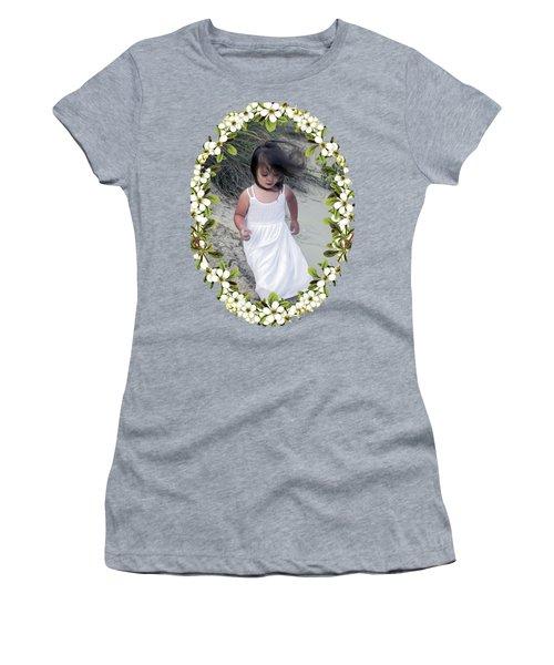 Baby Girl Women's T-Shirt (Junior Cut) by Brian Wallace
