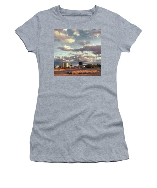 Back Side Of Water Tower, Arizona. Women's T-Shirt (Athletic Fit)