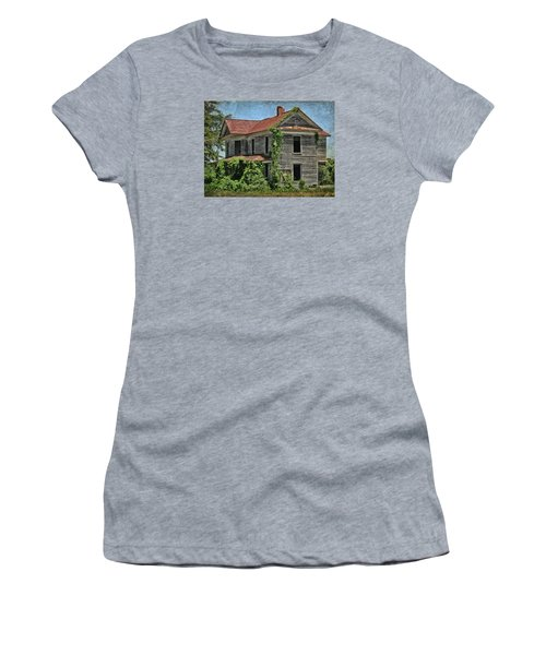 Back To Nature Women's T-Shirt (Junior Cut) by Victor Montgomery