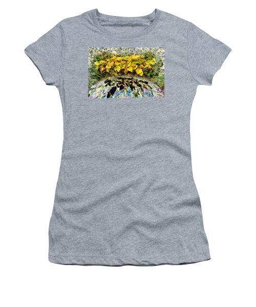 Backyard Portal.... Women's T-Shirt