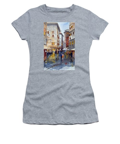 Baffettos Rome Women's T-Shirt (Athletic Fit)