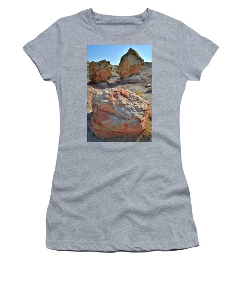 Balanced Boulders In Bentonite Site Women's T-Shirt (Athletic Fit)