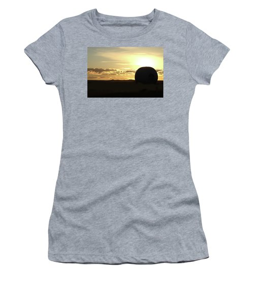 Women's T-Shirt (Junior Cut) featuring the photograph Balloonrise by Marie Leslie
