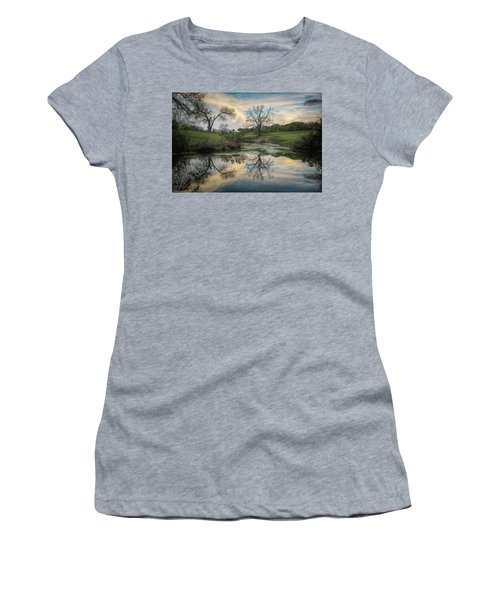 Bare Tree Reflections Women's T-Shirt
