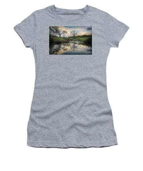 Bare Tree Reflections Women's T-Shirt