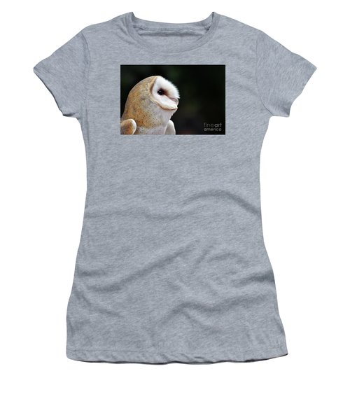 Barn Owl Women's T-Shirt (Athletic Fit)