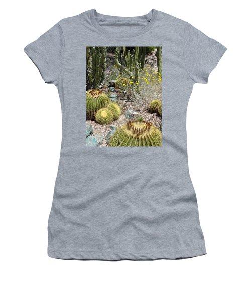Barrels And Barrels Of Cactus Women's T-Shirt (Athletic Fit)
