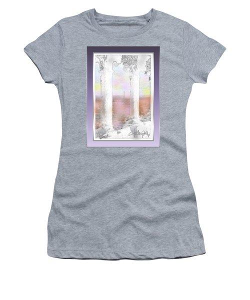 Sacre - Coeur Sunset Women's T-Shirt