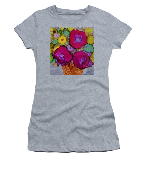 Basket Of Blooms Women's T-Shirt