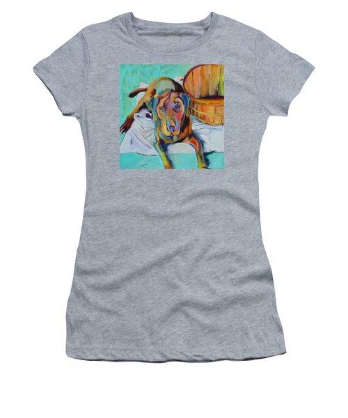 Basket Retriever Women's T-Shirt