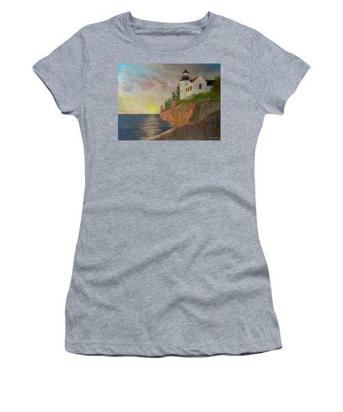 Bass Harbor Light Women's T-Shirt