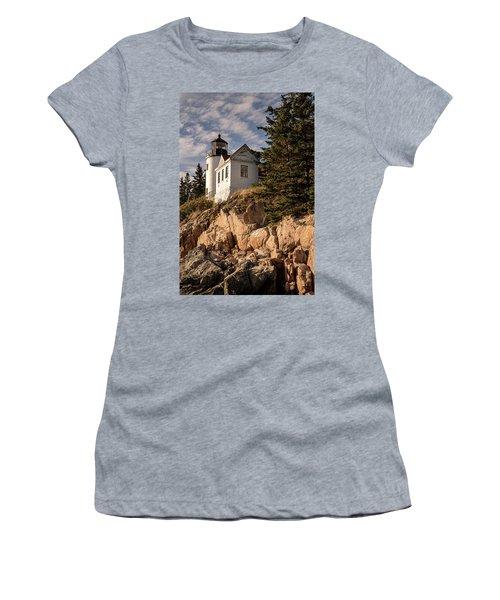 Bass Harbor Lighthouse Women's T-Shirt