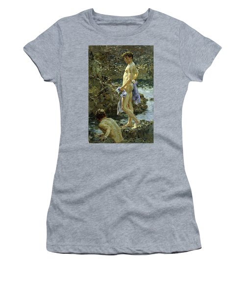 Bathing Group Of 1914 Women's T-Shirt (Athletic Fit)