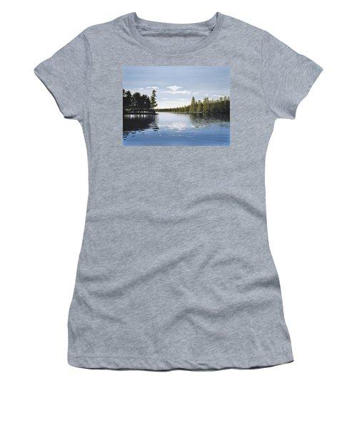 Bay On Lake Muskoka Women's T-Shirt