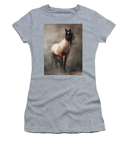 Bay Roan Horse Art Women's T-Shirt