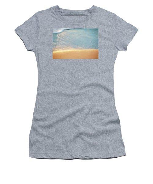Beach Caress Women's T-Shirt (Junior Cut) by Glenn Gemmell