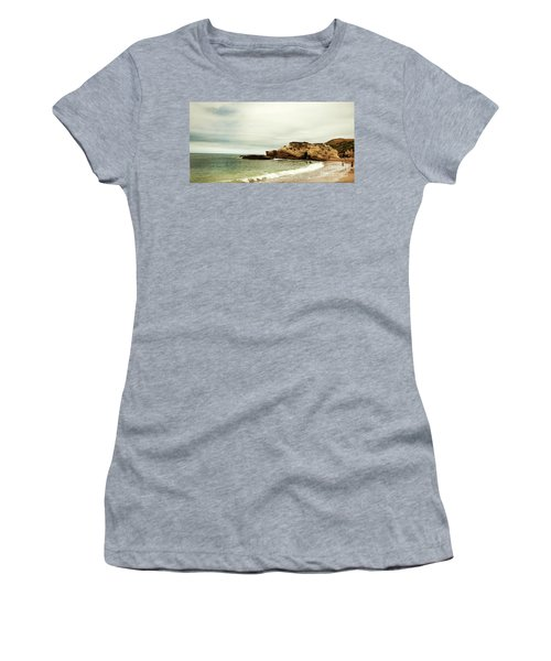 Beach Day At Montana De Oro Inspooner's Cove San Luis Obispo County California Women's T-Shirt (Athletic Fit)