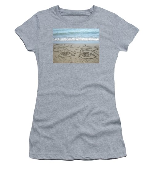 Beach Eyes Women's T-Shirt (Athletic Fit)