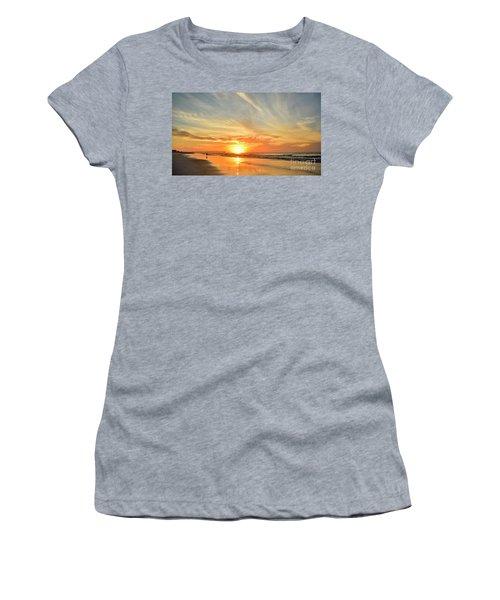 Beach Of Gold Women's T-Shirt
