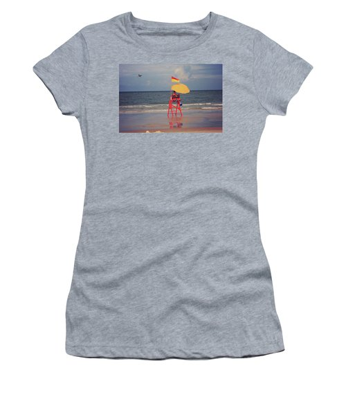 Beach Sentinel Florida Women's T-Shirt (Athletic Fit)