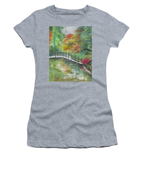 Beautiful Garden Women's T-Shirt (Athletic Fit)