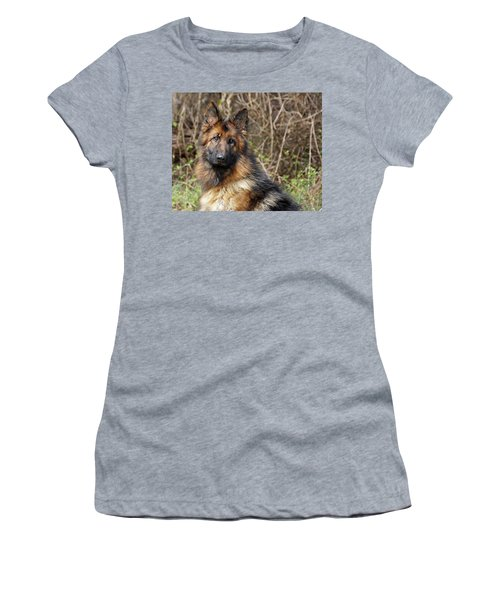 Women's T-Shirt (Junior Cut) featuring the photograph Beautiful Jessy by Sandy Keeton