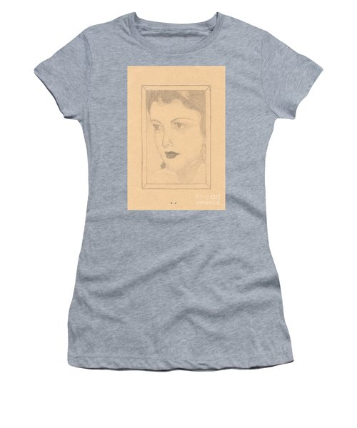 Beautiful Lady Face Women's T-Shirt