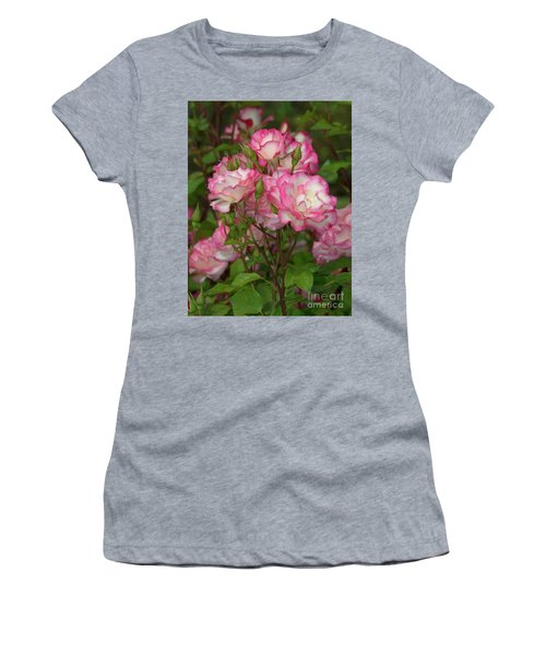 Beautiful Nicole Roses Lighter Women's T-Shirt (Athletic Fit)