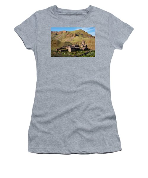 Beautiful Vorotnavank Monastery At Evening, Armenia Women's T-Shirt (Athletic Fit)