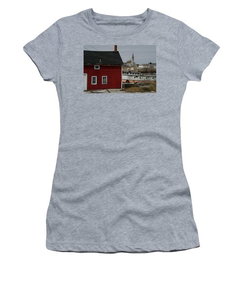 Becoming A Part Of A By-gone Era Women's T-Shirt (Junior Cut) by Janice Adomeit