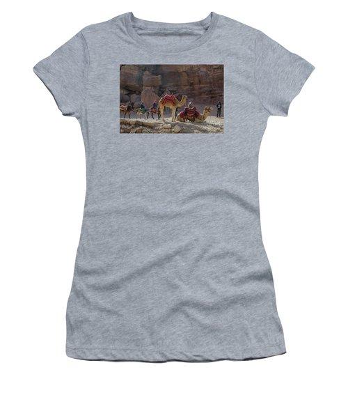 Bedouin Tribesmen, Petra Jordan Women's T-Shirt