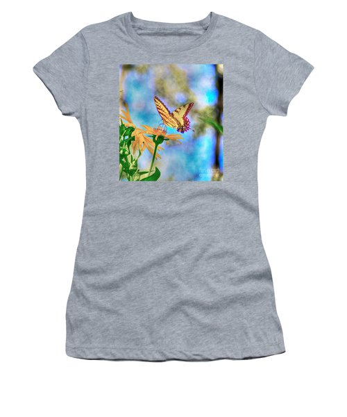 Before The Heat Of The Day Women's T-Shirt (Athletic Fit)