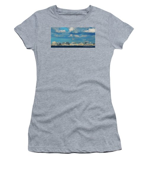 Behind The Bridge Women's T-Shirt (Athletic Fit)