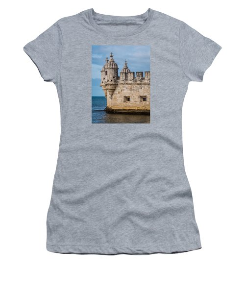 Belem Tower Women's T-Shirt (Athletic Fit)