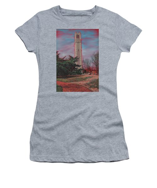 Bell Tower Women's T-Shirt (Athletic Fit)