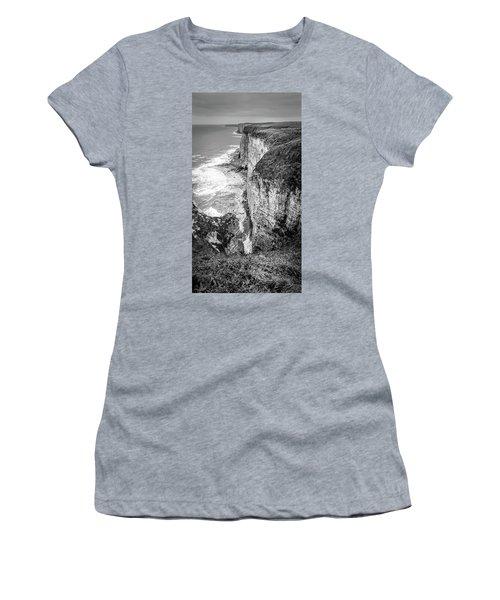Bempton Cliffs Women's T-Shirt (Athletic Fit)