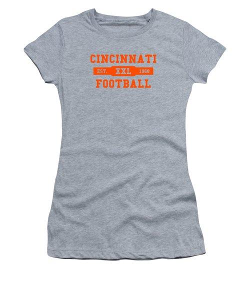 Bengals Retro Shirt Women's T-Shirt (Junior Cut) by Joe Hamilton
