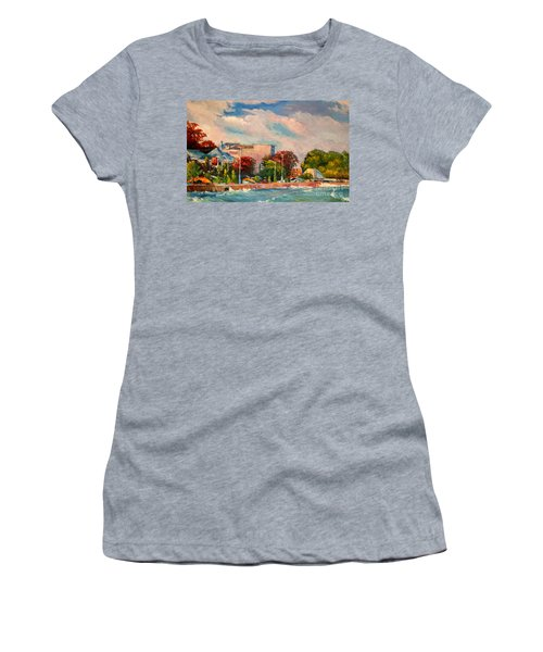 Berlin Wall Women's T-Shirt (Athletic Fit)