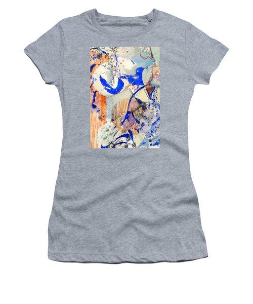 Between Branches Women's T-Shirt (Junior Cut) by Mary Schiros