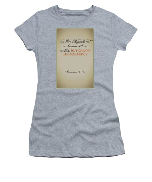 Beyond Our Imperfection Women's T-Shirt (Athletic Fit)