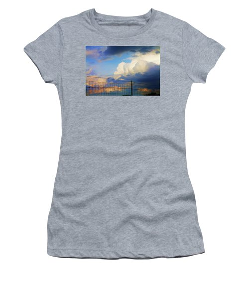 Beyond The Fence Women's T-Shirt (Athletic Fit)