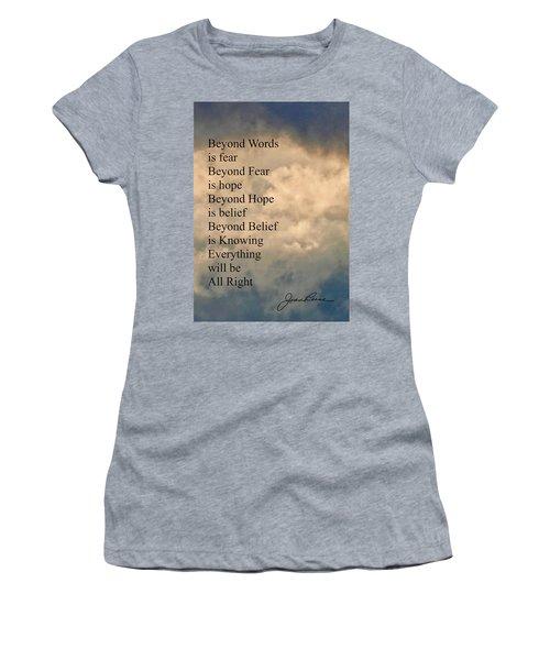Beyond Words Women's T-Shirt