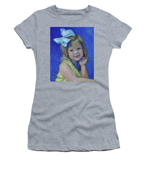 Big Bow Little Girl Women's T-Shirt