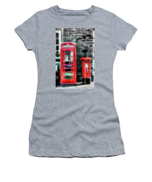 Women's T-Shirt (Junior Cut) featuring the photograph Big Box Little Box by Scott Carruthers