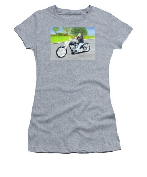 Bigdog Bulldog Women's T-Shirt (Junior Cut)